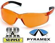 Orange Lens Glasses