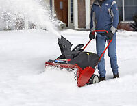 Snow Removal Labourers, general labour, students