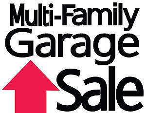 Gigantic Garage Sale – Two Sales in Crescent  50% Sale First Day