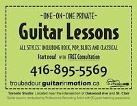 GUITAR LESSONS (@St.clair west and Oakwood)