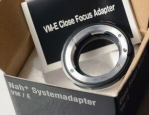 Voigtlander Leica M Lens CLOSE UP to Sony E Camera Adapter Saint-Hyacinthe Québec image 1