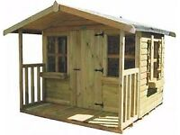 Appletree Childrens Playhouse By York Timber Products WILL NEED TAKING DOWN