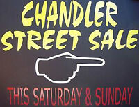 The time is near! Annual Chandler Street Sale
