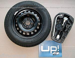 Genuine-VW-Up-Skoda-Citigo-Seat-Mii-Spare-Wheel-and-Tool-Kit-WITH-TYRE