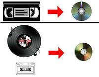 Vhs to Dvd Transfers & More!!!