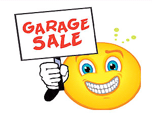 Garage sale 2890 Doane Rd, East Gwillimbury