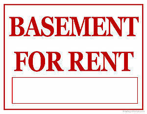 looking for a female to share two room basement apartment