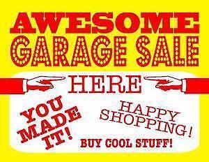Garage Sale Elizabeth Playford Area Preview