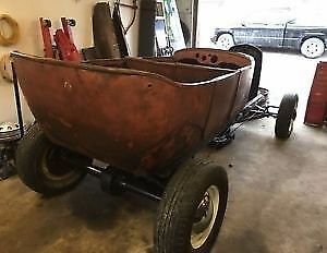 REDUCED MODEL A/WILLYS HOT ROD PROJECT