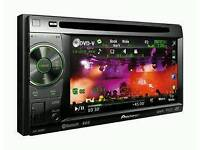 Pioneer AVH-2400BT, Double-Din Bluetooth AV Player, 5.8-inch Screen, iPod / iPhone, USB,DivX