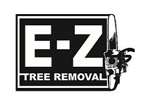 E-Z Tree Removal - Your #1 Choice - Call NOW for a FREE Quote!