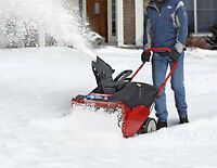 general labour snow removal