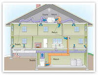 Peterborough HVAC Installer, Duct worker looking for side work.
