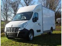 2015 65 RENAULT MASTER 3500 2.2DCI 125BHP LO-LOADER LOW CHASSIS LUTON VAN