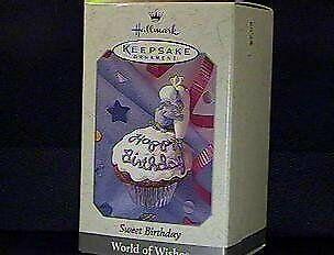 QEO8473 1998 Sweet Birthday World of Wishes Spring/Easter- 1998 Hallmark - Halloween Birthday Wishes
