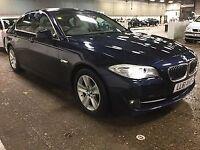BMW 5 SERIES 2.0 520D EFFICIENTDYNAMICS 4d 181 BHP + 1 OWNER + (blue) 2012