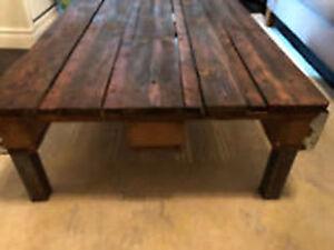 Restored Wood Pallet Coffee Table
