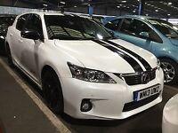 LEXUS CT 1.8 200H ADVANCE 5d AUTO 136 BHP (white) 2013