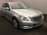 MERCEDES-BENZ E CLASS 2.1 E220 CDI BLUEEFFICIENCY EXECUTIVE SE 4d AUTO 1 (silver) 2011