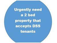 Urgent - 2 Bed DSS Property