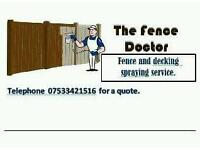 Need your Fence or Decking painting?