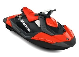 Sea-Doo Spark 2-up Chilly Pepper Red