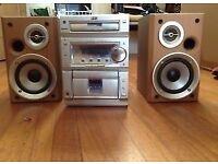 JVC UX-P55 Audio Shelf System