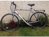 Men's 700c Saracen Bike