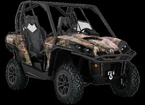 Can am Commander XT 1000 - Brake-up Camo