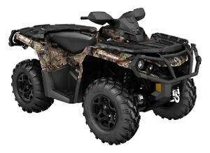 Can am Outlander XT 650 Brake-up Camo