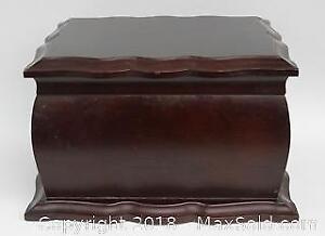 Wooden Bombay Jewelry/Keepsake Box