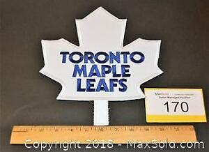 Toronto MAPLE LEAFS large embroidered HOCKEY JACKET CREST.