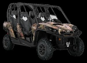 Can am Commander Max XT 1000 Break-up Camo Side by