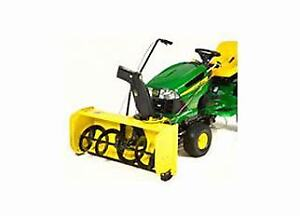John Deere snow Blower Attachment