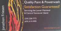 20 years painting experience in Lower Mainland! Relocating!