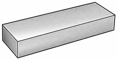 Zoro Select 2hkf1 Flat Stocksteel414038 X 1 In6 Ft L