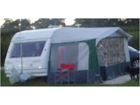 Sterling Sprite Excel 450 EB 2-Berth Caravan with Full Awning, Step & Accessories