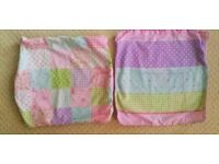 ** 2 x Shabby Chic Cushion covers - brand new **