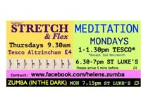 STRETCH & FLEX class THURSDAYS Tesco Altrincham! Just £4!