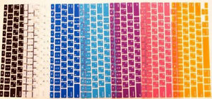 Russian/English Macbook keyboard cover