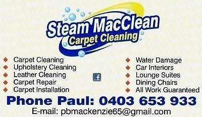 Steam MacClean Carpet Cleaning Beenleigh Logan Area Preview