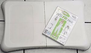 NINTENDO WII FIT BOARED AND WII FIT GAME FOR SALE