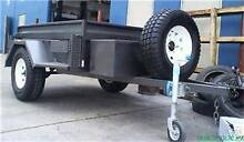 7x4 HEAVY DUTY OFF ROAD BOX TRAILER 4X4 4WD DELUX Minto Campbelltown Area Preview