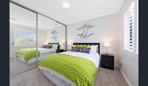 Queen Ensemble | 2 x Bedside Tables | Lamps | Bedhead Belmore Canterbury Area Preview