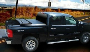 2009-2014 Tri Fold Tonneau Covers Fit Ford F150 IN STOCK London Ontario image 1