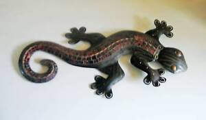Large Mosaic Metal Gecko Southport Gold Coast City Preview