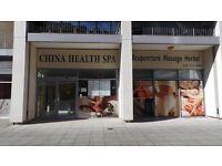 China health spa massage card 600 minutes massage
