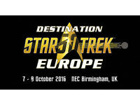 Destination Star Trek 50th Anniversary Convention - weekend ticket 7th-9th Oct (4 available)