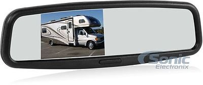 """NEW! Advent LCDM41A Replacement Rearview Mirror w/ 4"""" Monitor"""
