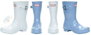 LIGHT BLUE HUNTER BOOTS